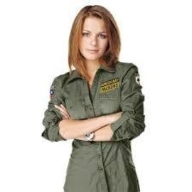 Green Bay Packers womens full button military shirt