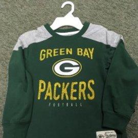 Green Bay Packers Youth Green Long Sleeve Tee