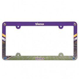Minnesota Vikings Full Color license plate frame