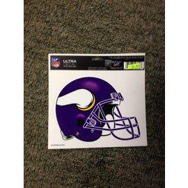 Minnesota Vikings multi-use colored decal 5x6