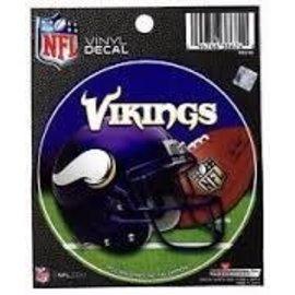 Minnesota Vikings Round Decal