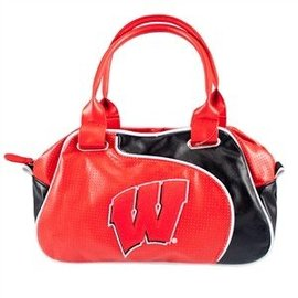 Wisconsin Badger Perfect Bowler Purse