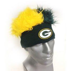 Green Bay Packers Flair Hair Beanie