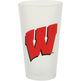 Wisconsin Badgers Frosted Pint Glass