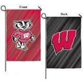 Wisconsin Badgers 2 Sided Banner Flag 29x43