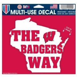 Wisconsin Badgers Decal - Badgers Way