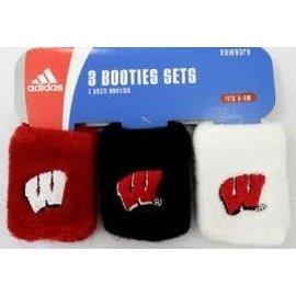 Wisconsin Badgers infant sock
