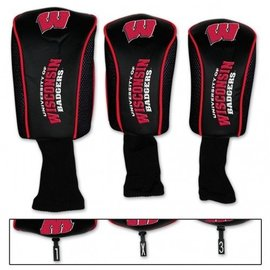 Wisconsin Badgers mesh 3 pack headcovers