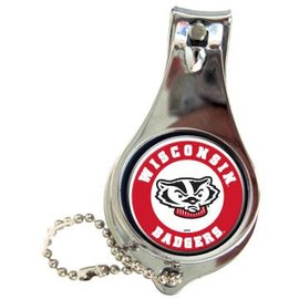 Wisconsin Badgers Nail Clipper Keychain