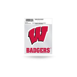 Wisconsin Badgers Small Static Cling