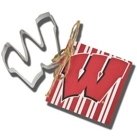 Wisconsin Badgers W Cookie Cutter