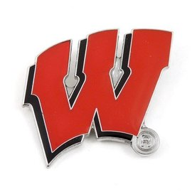 Wisconsin Badgers W Hat Pin