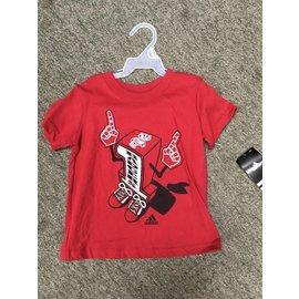 Wisconsin Badgers youth Number One short sleeve tee