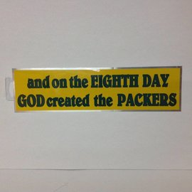 Green Bay Packers Bumper Sticker - On the 8th Day