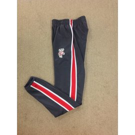 Wisconsin Badgers Youth Charcoal Poly Sweatpants