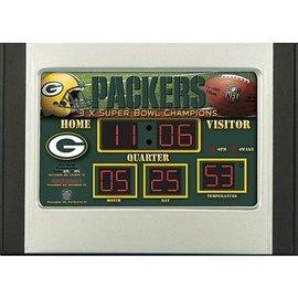 Green bay Packers Scoreboard Alarm Clock