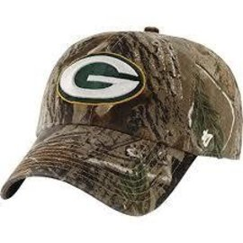 Green Bay Packers Realtree Clean Up Adjustable Hat