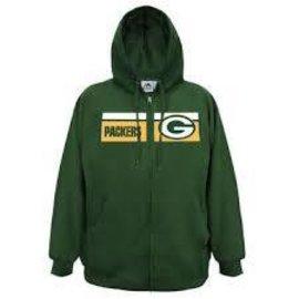 Green Bay Packers Men's Full Zip Hoodie