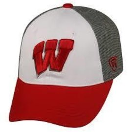 Wisconsin Badgers Hustle Adjustable Hat