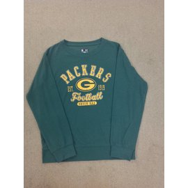 5th &  Ocean Green Bay Packers Women's Green Light Sweatshirt