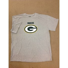 Green Bay Packers Men's Heather Gray Short Sleeve Tee