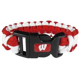 Wisconsin Badgers Survival Bracelet