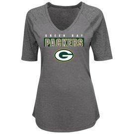 Green Bay Packers Women's My Team 1/2 Sleeve Tee