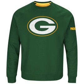Green Bay Packers Men's Green Classic Crew Sweatshirt