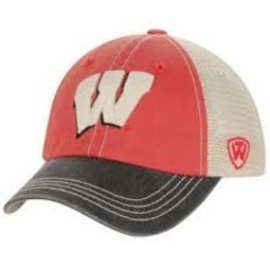 Wisconsin Badgers Offroad Youth Adjustable Hat