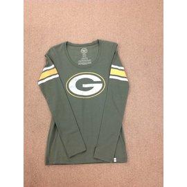 Green Bay Packers Women's 2 Sided Long Sleeve Tee