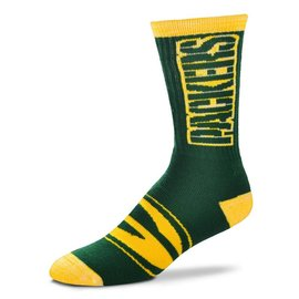 Green Bay Packers Crush Socks Size Large