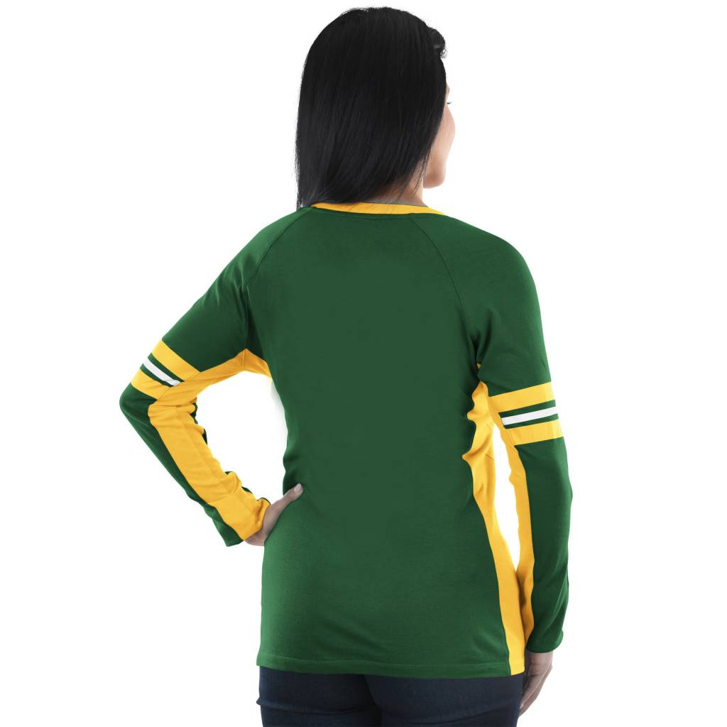 9932d836a Green Bay Packers Womens Long Sleeve Shirts - BCD Tofu House