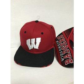 Wisconsin Badgers Dropstep Adjustable Hat