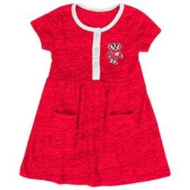 Wisconsin Badgers Infant Triple Jump Dress