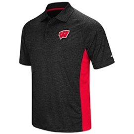 Wisconsin Badgers Men's Wedge Polo
