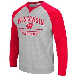 Wisconsin Badgers Men's Turf Crew Neck Sweatshirt