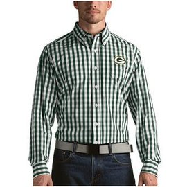 Green Bay Packers National Long Sleeve Full Button Shirt