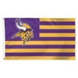 Minnesota Vikings Americana 3x5 Flag