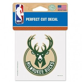 Milwaukee Bucks 4x4 Perfect Cut Decal