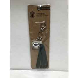 Green Bay Packers Tassel Purse Charm