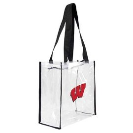Wisconsin Badgers Clear Stadium Tote