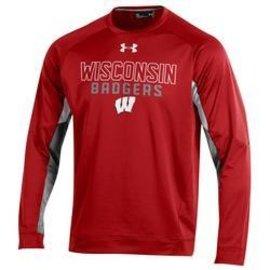 Wisconsin Badgers Men's Grid Crew Sweatshirt