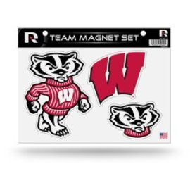 Wisconsin Badgers Bling Team Magnet Set