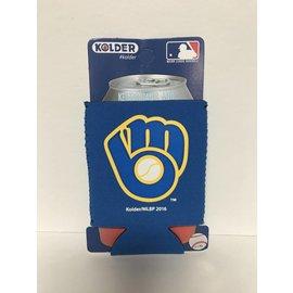 Milwaukee Brewers Ball and Glove Logo Can Kaddy