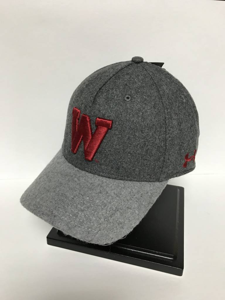 the best attitude 6e37f 1d5e0 ... inexpensive wisconsin badgers under armour pro fit adjustable hat 6c1a3  2600d ...