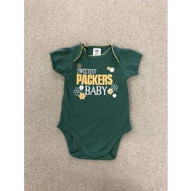 Green Bay Packers Infant Green Onesie