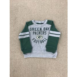 Green Bay Packers Toddler Retro French Terry Crew Sweatshirt
