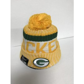 Green Bay Packers 2017 Onfield Knit Hat - Reverse