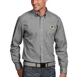 Green Bay Packers Men's Associate Long Sleeve Full Button Shirt