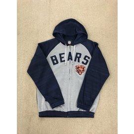 Chicago Bears Men's Legend Full Zip Hooded Jacket